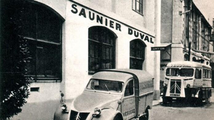 Historia de Saunier Duval